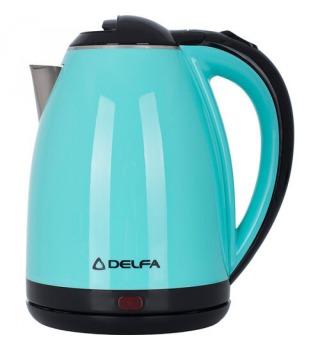 Елек. чайник Delfa DK 3520 X turquoise